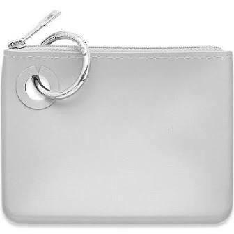 Mini Silicone Pouch-Silver
