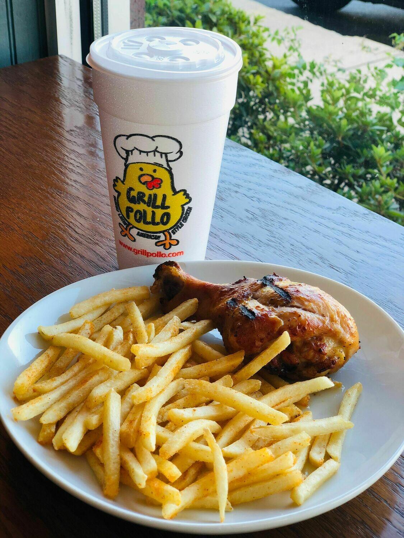 Kids Meal - 1PC Chicken Leg