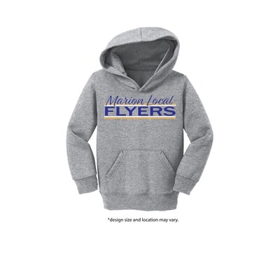 CAR78TH-TODDLER HOODED SWEATSHIRT-SCRIPT