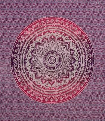 Ombre Mandala Double