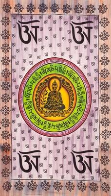 Painted Buddha single