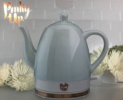 Noelle Ceramic Electric Tea Kettle - Light Blue
