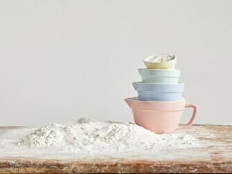 Stoneware Measuring Cups - Pastel