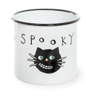Enamel Canister - Spooky