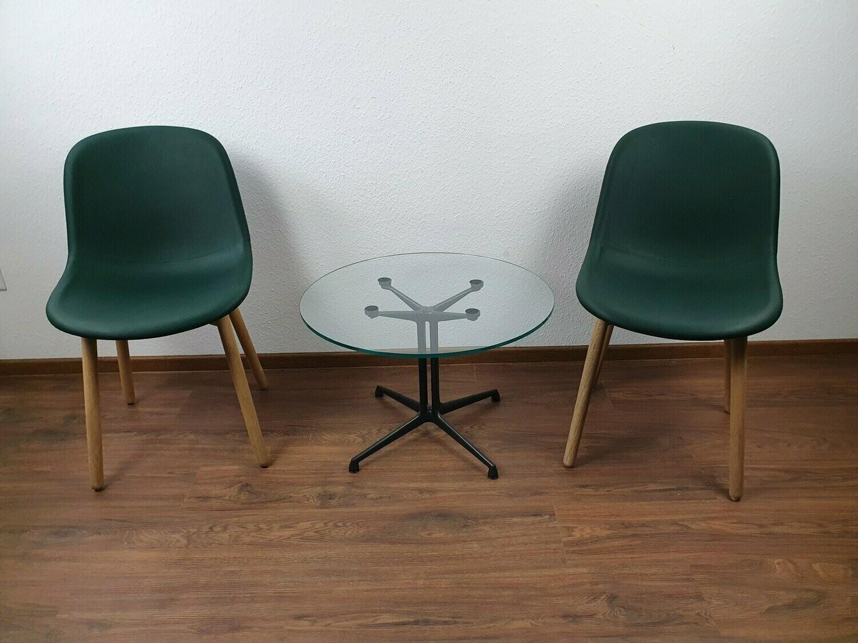 Hay Neu 13 Chair Stuhl Holzgestell Hay Stuhl grün