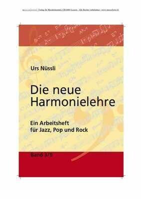 Die neue Harmonielehre  Band 3