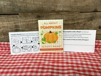 Pumpkin Activity Pkt
