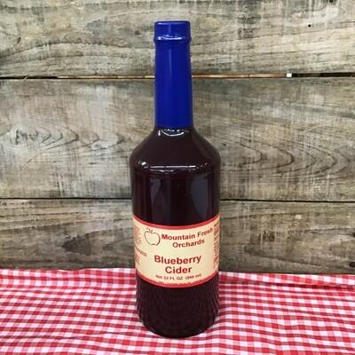 Blueberry Cider 32 oz