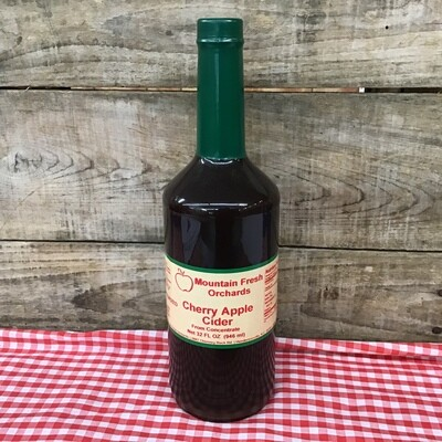 Cherry Apple Cider 32 oz