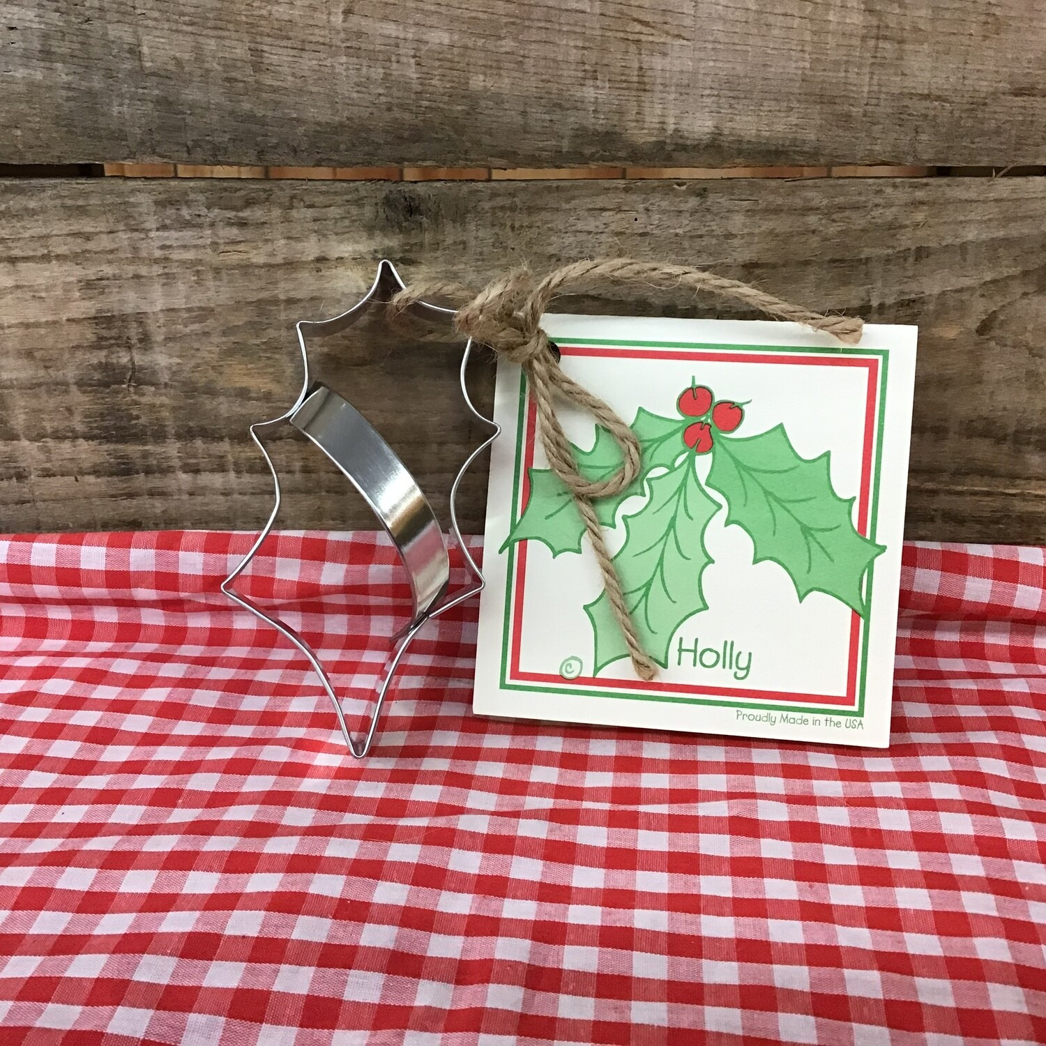 Holly Leaf Cookie Cutters