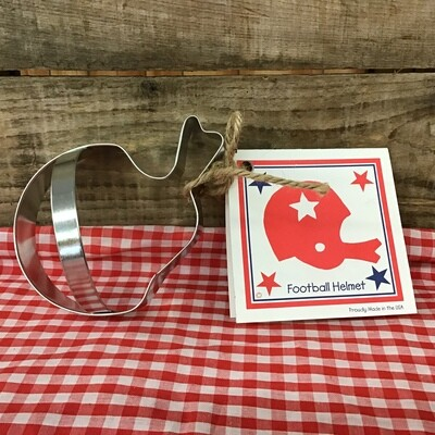 Helmet Cookie Cutter