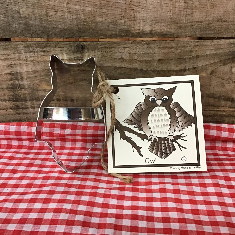Owl Cookie Cutter