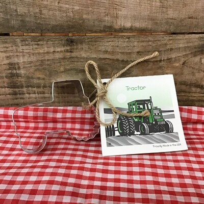 Tractor Cookie Cutter