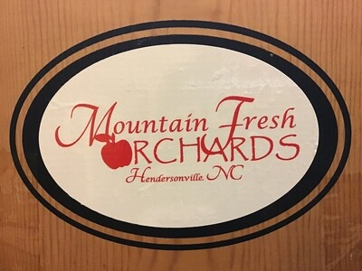 Mountain Fresh Orchards Decal