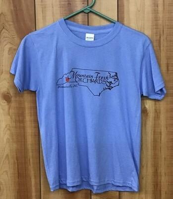 NC T-shirts - Kids Blue
