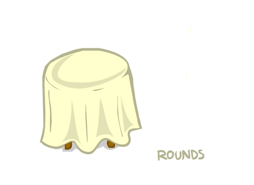 6117 Round Vinyl Tablecloths Made To Order Custom
