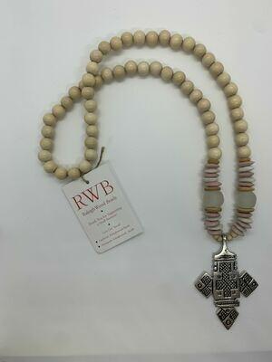 Cross Beaded Necklace