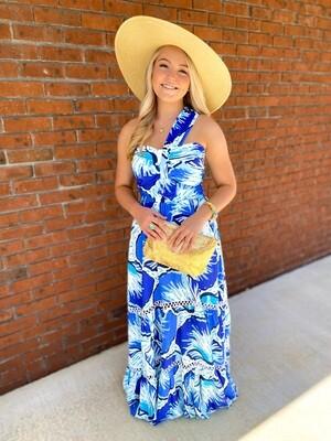 Elle Maxi Dress Blue