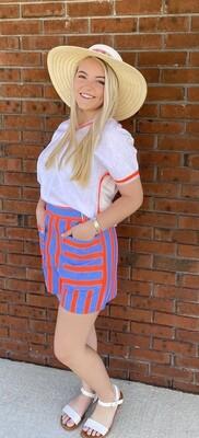 Namib Fluor Stripe Short