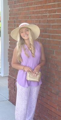 Lavender SL Shannon Top