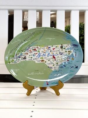 "NC 16"" Oval Platter"