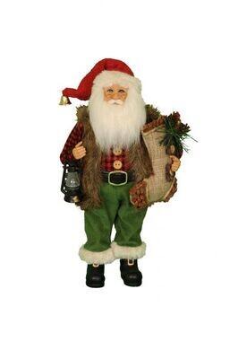 Woodland Stocking Santa