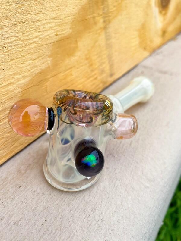 Minguez Silver Fume opal, Fume, Milli Marbles WS