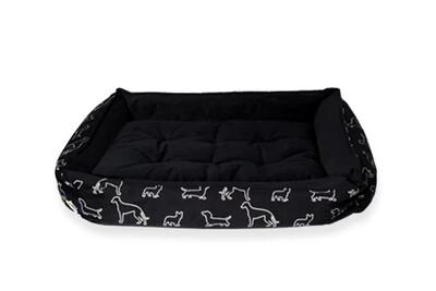 COZY BED - BLACK DOGGIES - 23