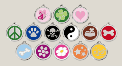 SHOP LOCAL with Red Dingo ID Tags