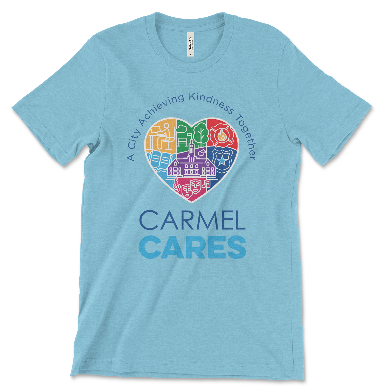 Carmel Cares t-shirt