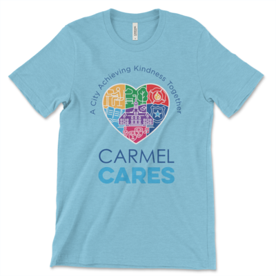 Carmel Cares t-shirt