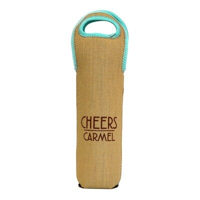 Cheers to Carmel Wine Tote