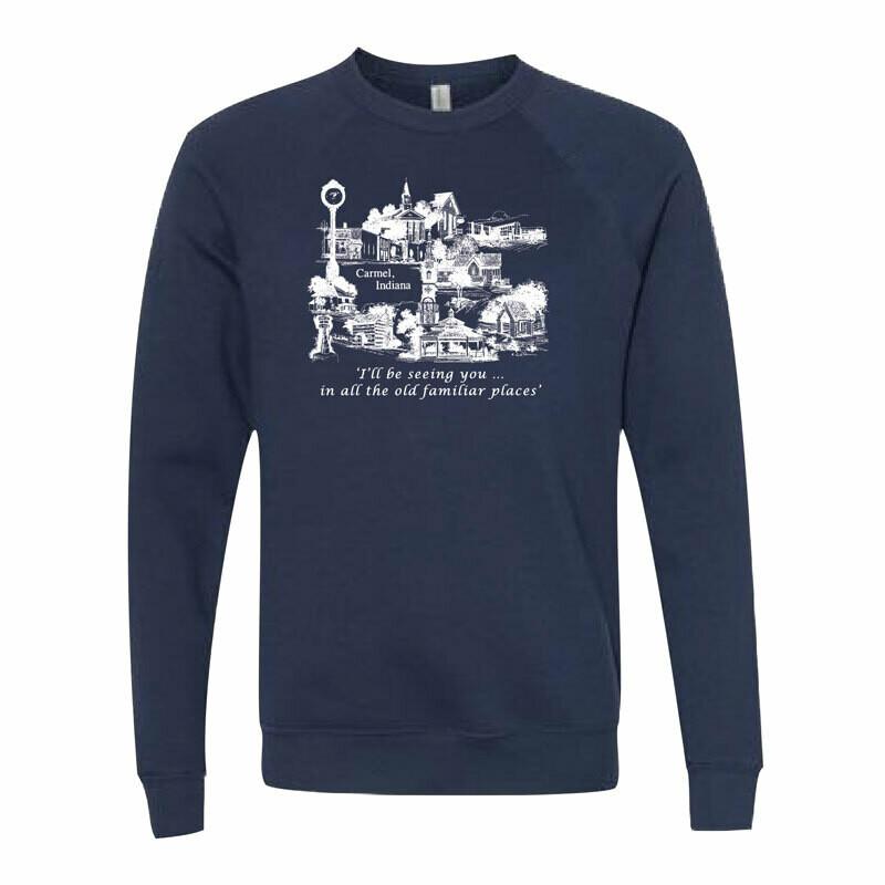 Most Familiar Places Sweatshirts