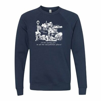 Most Familiar Places Sweatshirts