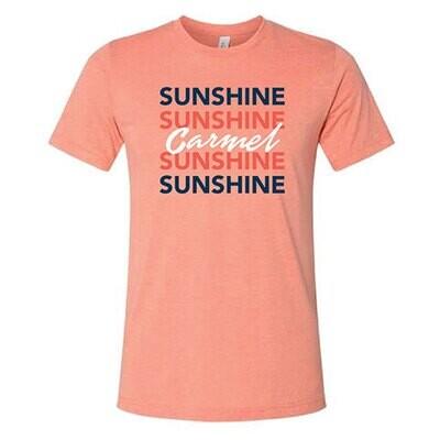 Sunshine Sunshine Carmel Sunshine Sunshine Crew Neck T-Shirt