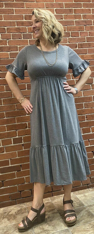 loveriche Charcoal Dress
