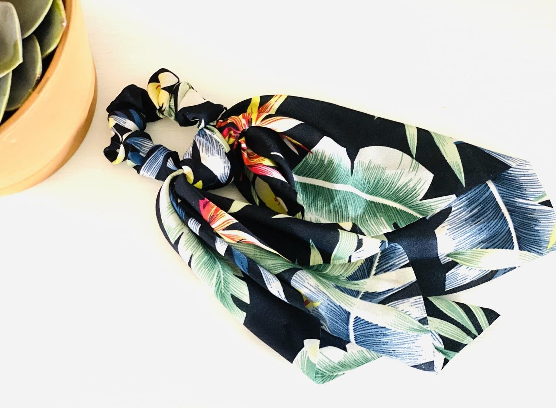Hair Tie Scarf Scrunchie