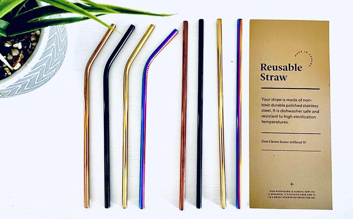 Mixed Reusable Straws