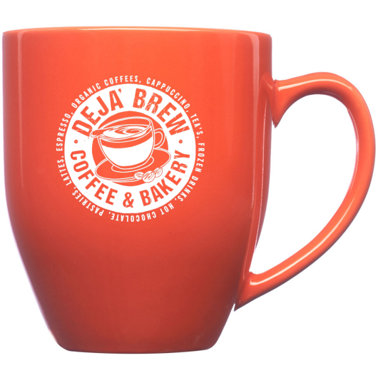 16 oz Ceramic Mug (Orange)