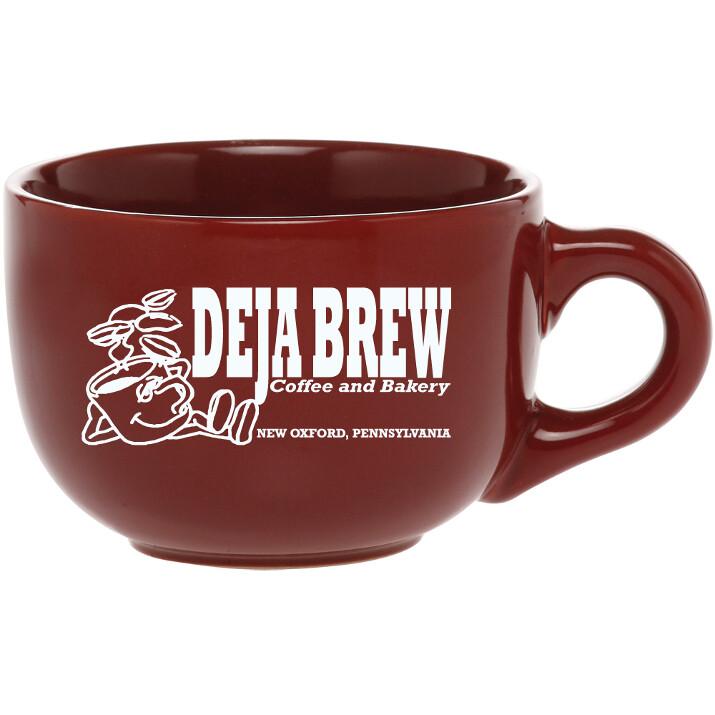 18 oz Latte Mug (Maroon)