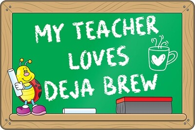 Teacher Chalkboard Sticker (3.5