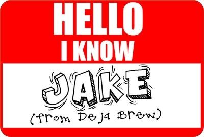 Jake From Deja Brew Sticker (3
