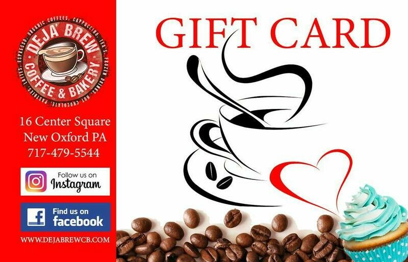 Deja Brew Gift Card (Up to $50)