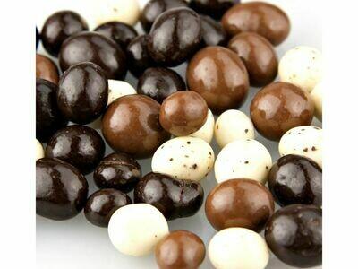 Tri- Colored Coffee Beans  (8 oz.)