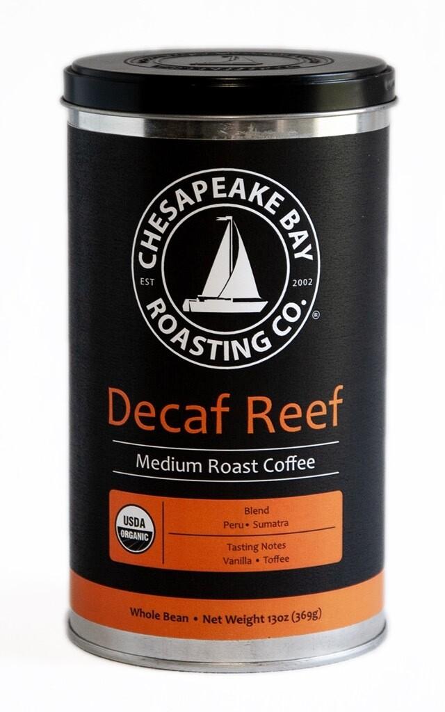 CBRC - 'Organic Decaf Reef' Decaffeinated Coffee (13 oz)