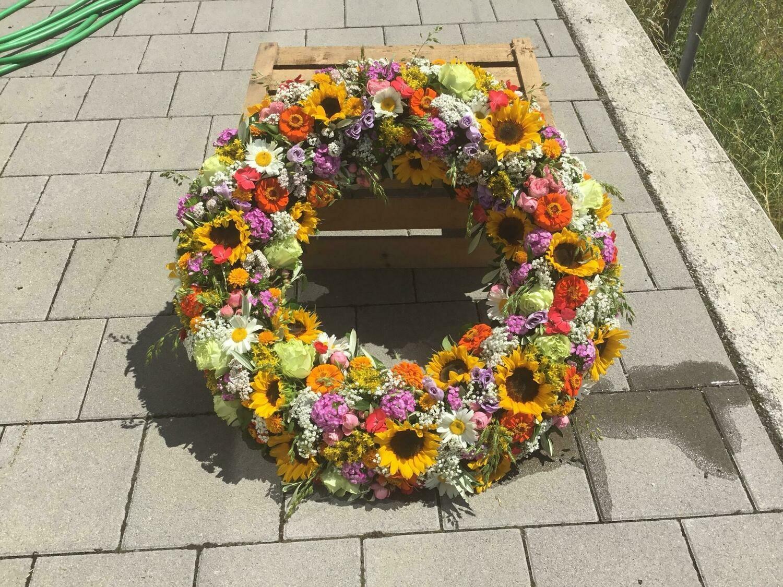 Blumenkranz (Trauerfall)