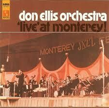 "Don Ellis Orchestra ""Live At Monterey"" VG+ 1966"