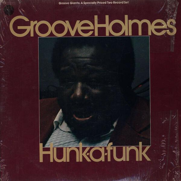 "Richard ""Groove"" Holmes ""Hunk-A-Funk"" EX+ 1975 {2xLPs!}"