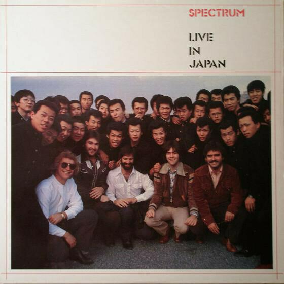 "Spectrum ""Live In Japan"" NM- 1981"