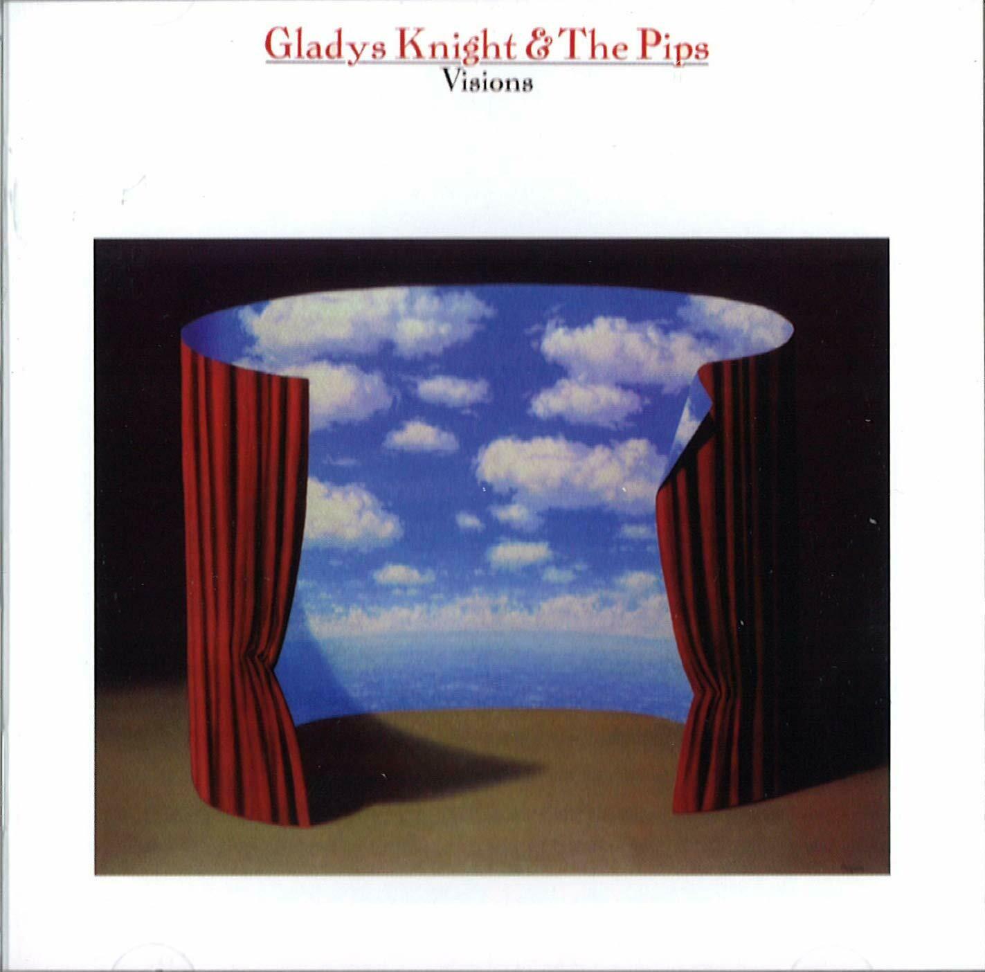 "Gladys Knight & The Pips ""Visions"" VG+ 1983 *SKP/B1*"